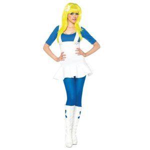 Women's Blue Gnome Costume